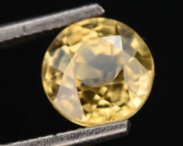 Yellow Color 1.25 ct AAA Brilliance Natural Zircon ~ Cambodia