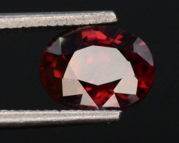 Red Color 1.60 ct AAA Brilliance Natural Zircon ~ Cambodia