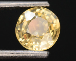 Yellow Color 1.10 ct AAA Brilliance Natural Zircon ~ Cambodia