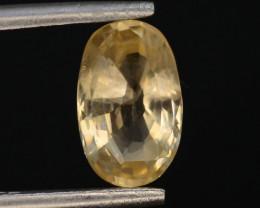 Top Color 1.60 ct Natural Yellow Sapphire ~ KA