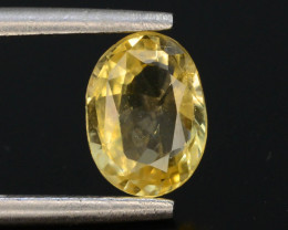 Top Color 1.05 ct Natural Yellow Sapphire ~ KA