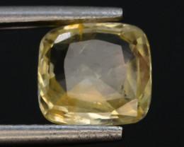 Top Color 1.75 ct Natural Yellow Sapphire ~ KA