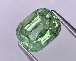 2.64 Cts Afghanistan Mint Green Natural Tourmaline Fine Luster