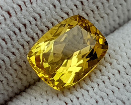 2CT HELIODOR BERYL  BEST QUALITY GEMSTONE IIGC49