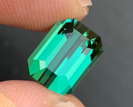 4.70 ct Natural Bluish Green Tourmaline