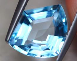 2.79ct Natural Blue Topaz Fancy Cut Lot D455