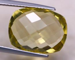 9.31ct Natural Lemon Quartz Octagon Cut Lot V8187