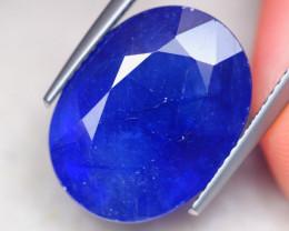 15.61ct Ceylon Blue Sapphire Oval Cut Lot D395