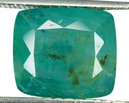 ~RARE~ 8.24 Cts Natural Bluish Green Grandidierite Cushion Cut Madagascar