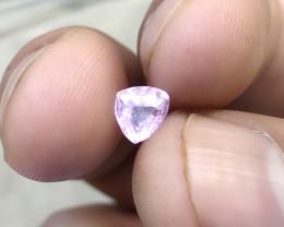 0.80 Ct Natural Transparent Baby Pink Tourmaline Gemstone