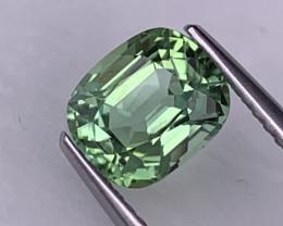 1.66 Cts Fine Grade Mint Green Afghanistan Natural Tourmaline