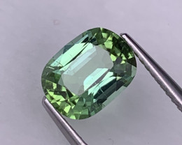 2.18 Cts Seafoam Blue/Green AAA Quality Afghanistan Natural Tourmaline