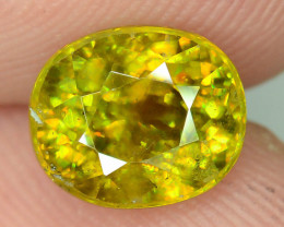 Rare AAA Fire 2.65 ct Sphene~K