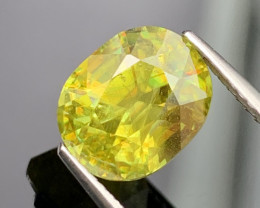 4.08 Cts Amazing Fire Fine Quality Natural Sphene