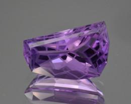 Natural  Amethyst 9.12 Cts Precision Cut Gemstone