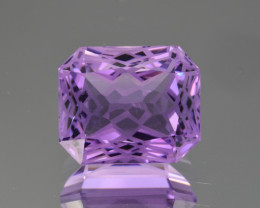 Natural  Amethyst 9.38 Cts Precision Cut Gemstone
