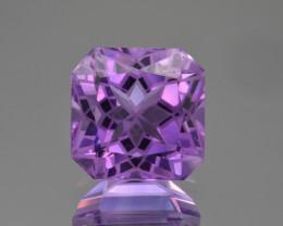 Natural  Amethyst 9.99 Cts Precision Cut Gemstone