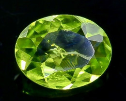 1.10 Crt Natural Peridot Faceted Gemstone.( AB 43)