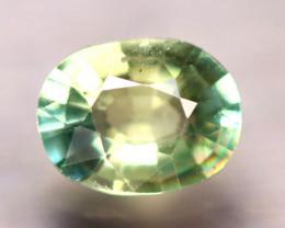 Apatite 1.80Ct Natural Paraiba Green Color Apatite E2213/B44