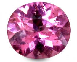Brazilian Tourmaline 1.3 Cts Pink Antique Step Cut BGC74