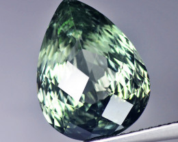 Africa Tourmaline 3.96 Cts Green Quantum Cut BGC130