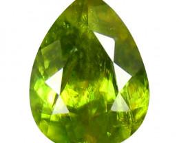 Sphene 1.43 Cts Green Portuguese Cut BGC790