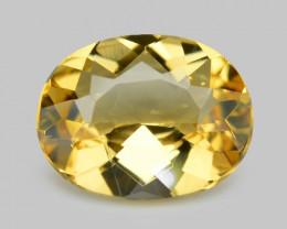 1.42 Cts Amazing Rare Golden Yellow Natural Beryl Loose Gemstone