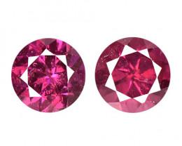 Umbalite Garnet 1.02 Cts 2 Pcs Unheated Natural Purple Gemstone