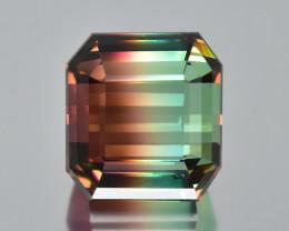 18.07 Cts Gorgeous Beautiful Color Natural Bi Color Tourmaline