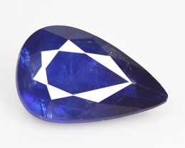 1.31 Cts Amazing Rare Natural Fancy Blue Sapphire Loose Gemstone