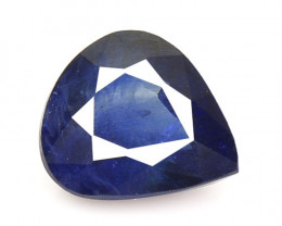 0.73 Cts Amazing Rare Natural Fancy Blue Sapphire Loose Gemstone