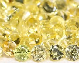 Yellow Sapphire 1.88Ct Calibrate 1.7mm Natural Yellow Sapphire Lot B1503