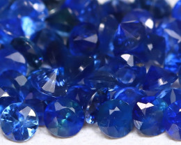 1.90Ct Calibrate 1.8mm Natural Vivid Blue Sapphire Round AB1605
