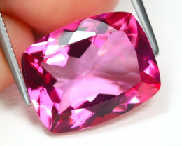 Pink Topaz 11.05Ct VVS Octagon Cut Natural Vivid Pink Topaz B1534