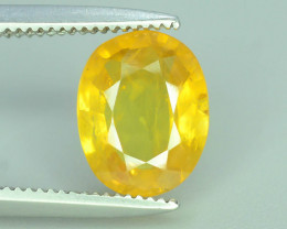 Top Clarity & Color 1.75  ct Rarest Yellow Sapphire~Sri Lanka