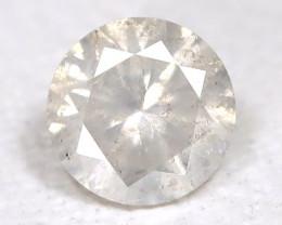 White Diamond 0.19Ct Natural Untreated Fancy Dimond B1645