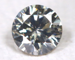 Metalic Gray Diamond 0.09Ct Natural Untreated Fancy Dimond AB1655