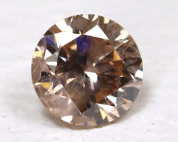 Gray Pink Diamond 0.10Ct Natural Untreated Fancy Dimond B1690