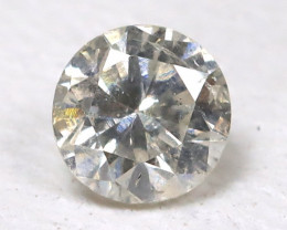 White Diamond 0.10Ct Natural Untreated Fancy Dimond AB1691