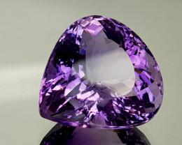34.45Crt Natural Amethyst  Natural Gemstones JI25