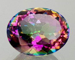 2.39Crt Mystic Quartz Natural Gemstones JI25