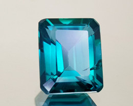 5.59Crt Green Topaz Natural Gemstones JI25