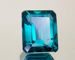 5.59Crt Green Topaz Natural Gemstones JI25