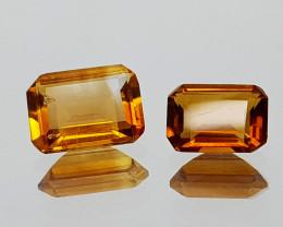 1.39Crt Madeira Citrine Natural Gemstones JI25