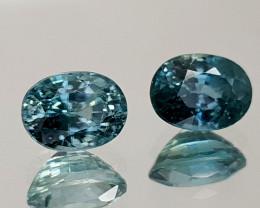 3Crt Blue Zircon Natural Gemstones JI25