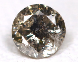Salt and Pepper Diamond 0.10Ct Natural Untreated Fancy Dimond B1696
