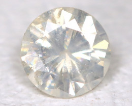 White Diamond 0.11Ct Natural Untreated Fancy Dimond B1699