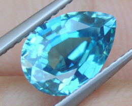 3.37cts, Natural Blue Zircon