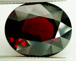 Huge! 20.20 ct Natural Earth Mined Reddish Purple Rhodolite Garnet, Madagas