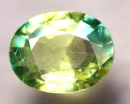 Apatite 1.75Ct Natural Paraiba Green Color Apatite D2311/B44